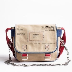 Zadig e Voltaire readymade xs mail bag